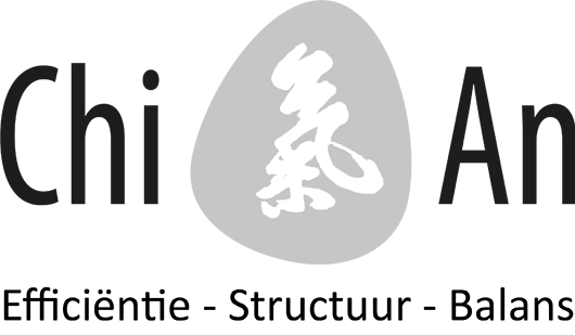 Chi-An logo met tagline
